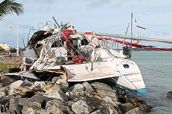 Hurricane Gonzalo Wreaks Havoc In St Maarten