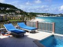 BEACH HOUSE YOUNES..  Oceanfront  2BR villa just steps from Dawn Beach - Beach House Gianna, 2BR vacation villa on Dawn Beach, St Maarten