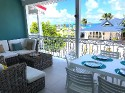 AMERINDIEN BLUE... Charming, affordable refurbished 2BR condo in the heart of Orient Village - Amerindien Blue, Orient Bay, St Martin