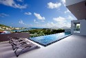 EMVIE... Contemporary 3 BR Beauty overlooking Orient Bay, Full AC, Gym, Jacuzzi, Great Price!!! - Villa Emvie, Mount Vernon III, St Martin