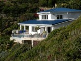 DAWN BEACH VILLA... 5BR overlooks beautiful Dawn Beach on the island of St. Maarten