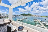 JUST BLUE PENTHOUSE.. 3 BR on Simpson Bay Lagoon, St Maarten
